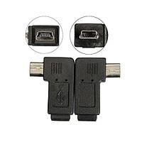 Мини-USB 5pin мужчин и женщин расширения адаптер 90 градусов вправо/влево под углом