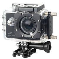 Оригинальный водонепроницаемый корпус + зарядное устройство для спортивной камеры автомобиля SJCAM SJ4000 sj4000 WiFi sj4000 плюс на мотоцикле