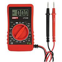 UNI-T UT20B Ручной карманный мини-цифровой мультиметр DMM Ohm Meter Volt Meterr Ammeter Amp Volt Current OHM Test