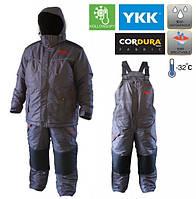 Зимний костюм Fishing ROI Polaris 2 Серый, мембрана до -32, влагостойкость 5000 мм, для рыбалки и охоты