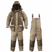 Зимний костюм Fishing ROI Thermal Pro Хаки, мембрана до -30, влагостойкость 3000 мм, для рыбалки и охоты