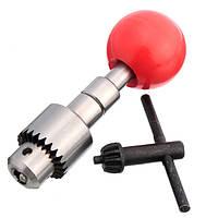 0.3-4мм мини-дрель рука с ключом зажимного патрона микро ремесло ручной дрели