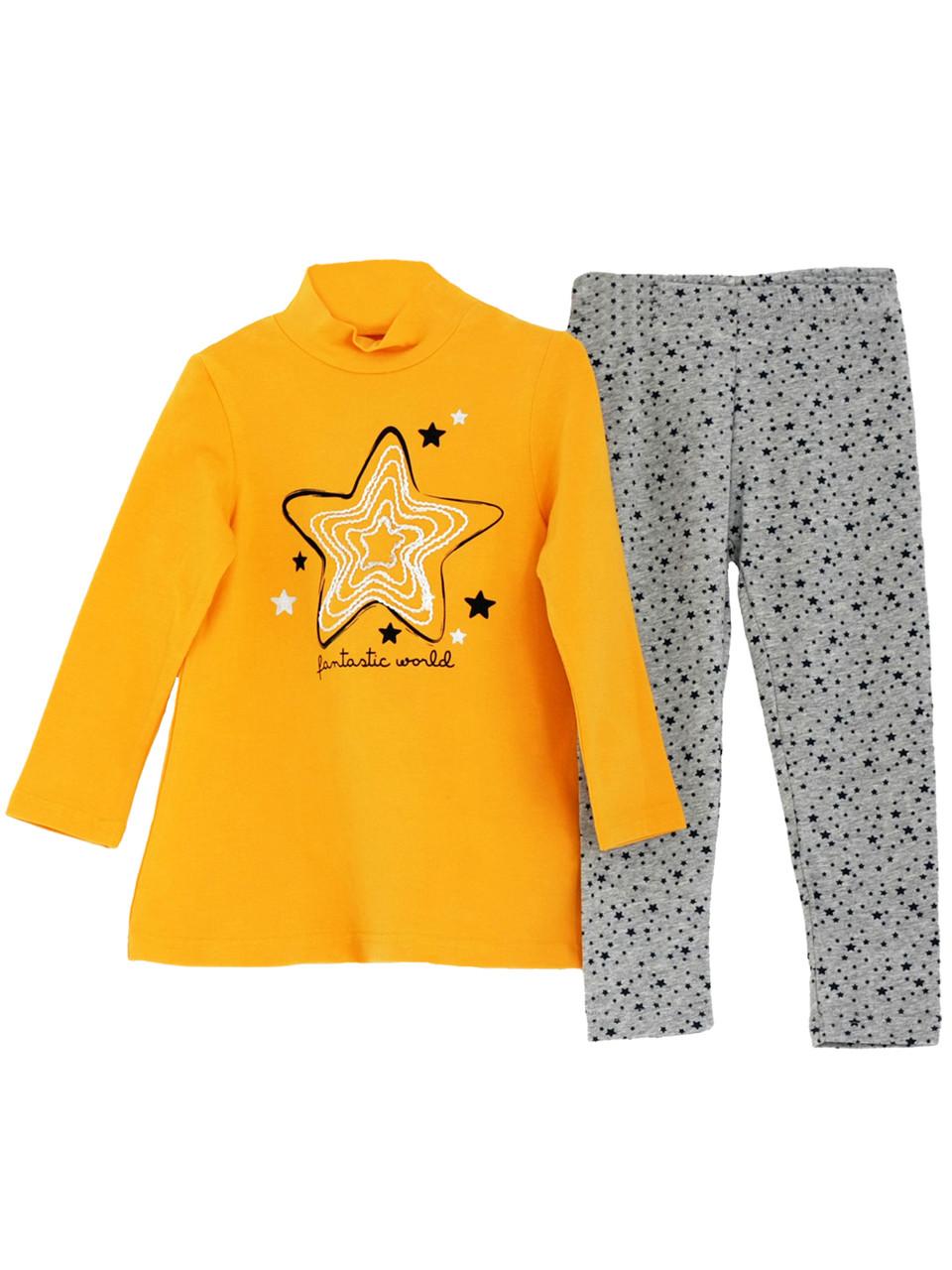 Детский Комплект  туника, леггинсы для девочки 2-7 лет, цена 280 грн ... bfdaf472548