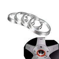 4шт 57.1-66.6mm легкосплавные колесные диски патрубком понижающие кольца ступица ориентированных проставка для VW сидений ауди