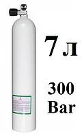 Баллон для дайвинга BTS; 7 л; 300 Bar