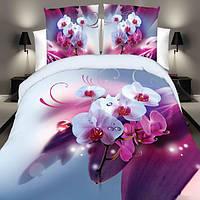 4шт костюм полиэфирного волокна 3d белый розовый Фаленопсис реактивная крашения постельное белье королева королевского размера