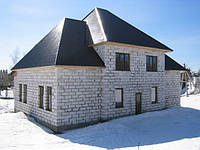 Возведение зданий из блоков