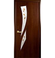 """Межкомнатные ламинированные двери """"Камея"""" 70 Орех"""