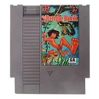 Книга джунглей 72 контактный 8 бит картридж игры карты для NES Нинтендо 1TopShop