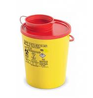 Контейнер для утилизации медицинских отходов 0,6л