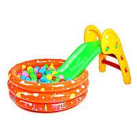 Ребенок складной маленький скользкий скользить вверх и вниз, как складной один слайд скользкой слайд игрушка