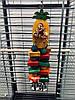 Деревянная игрушка для попугаев «Ананас» (маленький)
