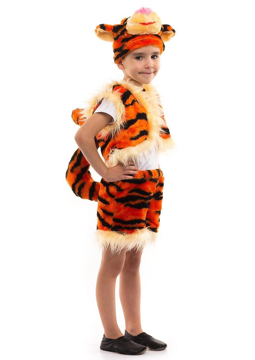 """Детский карнавальный меховой костюм """"Тигр Дисней"""" для мальчика"""