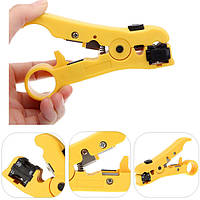 Роторный коаксиальный кабель коаксиальный кабель кусачки инструмент для зачистки RG59 RG6 RG11 RG7 стриптизерша
