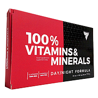 TREC NUTRITION 100% Vitamins & Minerals Day/Night 60 капс