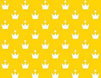 """Бязь детская ткань """"Белые короны со звездой"""" (оптом) №666"""