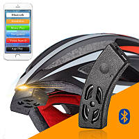 Rockbros смарт Bluetooth шлем аудио верхом велосипед колокол динамик громкой связи телефонный звонок голосовой навигации водонепроницаемый IP54