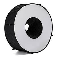 45 см магнитное легко-сложенное кольцо для макросов Круглое круглое софтбокс для фонарика Speedlite