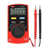 UNI-T ut120a супер тонкий измерительный прибор карманный портативный цифровой мультиметр постоянного/переменного тока частоты напряжение со