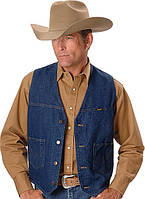 Джинсовая одежда, Wrangler unlined denim vest