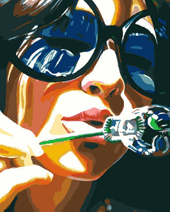 AS0080 Набор-раскраска по номерам Лето, фото 2