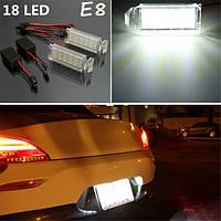 2 x 18 LED СМД номер свет номерного знака для вброд Фалкон фемтограмм ба/бф хт 6/8 белый