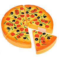 ABS пластиковые ломтики пиццы моделирования малышей детей игрушки еда кухня игра