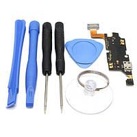 Микро USB зарядное устройство порт док гибкий кабель с инструментами для Samsung Galaxy Примечание N7000 i9220