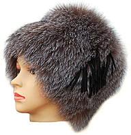 Меховая шапка из блюфроста,Барбара без полосы (голд)