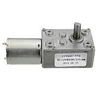 12v 24rpm квадрат скорости коробка передач червяк направлена двигатель постоянного тока с высоким крутящим моментом 370 двигателя