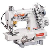 Siruba C007K-W122-356/CH Плоскошовная швейная машина (распошивалка) с цилиндрической платформой