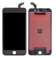 Дисплей iPhone 6 Plus с сенсором (тачскрином) и рамкой, черный, оригинал