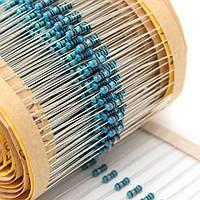 820 штук 1/4W 1% 41 значения металлической пленки резистор разбирали комплект 1 Ом-1м Ом фиксированной конденсатор