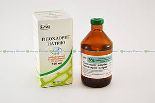 Гипохлорит натрия 3% (100 мл) Latus