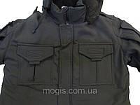 Куртка утепленная мод. Антитеррор(тк. Совтшел) черная, фото 1