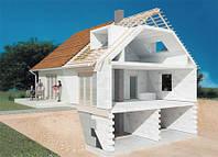 Возведение зданий из газоблока