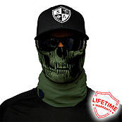 Бафф TACTICAL GREEN SKULL