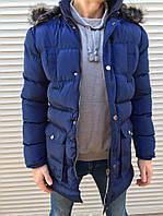 Зимняя куртка топ качества Moncler navy