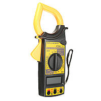 DT266 электронный цифровой мультиметр с клещами для измерения переменного тока постоянного тока напряжения инструмент тестер
