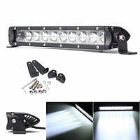 12inch 50W LED Свет для работы на свечах Sopt Light для внедорожного вождения Лампа SUV Авто Лодка 4WD Грузовик