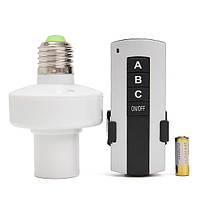 E27 винт беспроводной пульт дистанционного управления свет лампы лампа держатель крышка переключатель гнездо