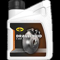 Cинтетическая тормозная жидкость Kroon Oil Drauliquid-S Dot 4 1л KL04206