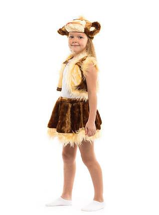 """Детский карнавальный меховой костюм """"Обезьянка"""" для девочки, фото 2"""