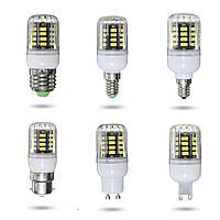E27 e14 e12 b22 G9 GU10 3w 31 СМД 5730 шт LED чистый белый теплый белый крышка кукуруза лампа AC220V