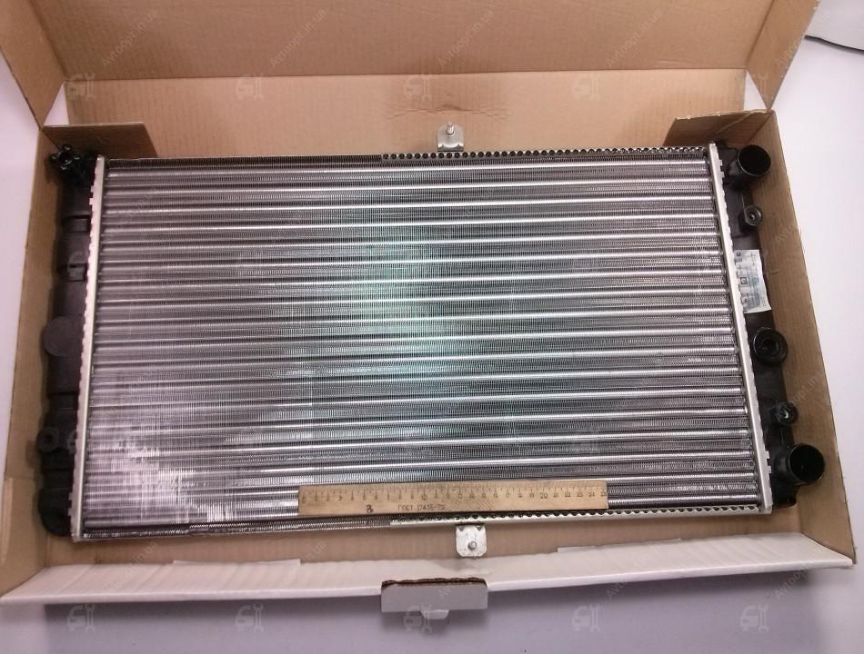 Радиатор основной ВАЗ 2110-2112 цельно-паяный, спорт,  Лузар
