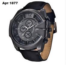 Кварцевые наручные часы СТАЛЬ (XINEW)черные