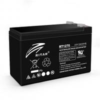 Акумуляторна батарея AGM RITAR RT1270A, Black Case, 12V 7.0 Ah ( 151 х 65 х 94 (100) ) Q10