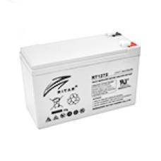 Акумуляторна батарея AGM RITAR RT1275, Gray Case, 12V 7.5 Ah (151х65х93 (98) мм) Q10