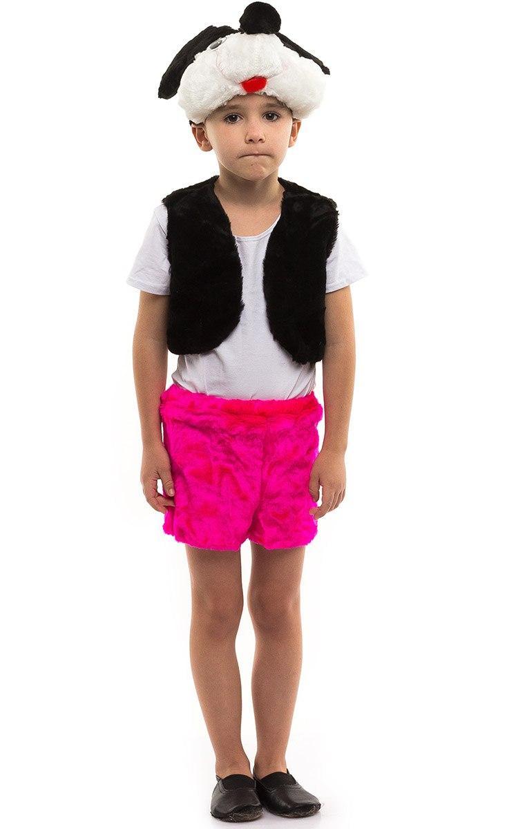 """Карнавальный детский меховой костюм """"Микки Маус"""" для мальчика (2 цвета)"""
