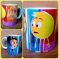 Кружка чашка Emoji Эмодзи